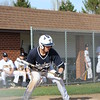Matt Eglar squares up for a bunt