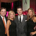 Brian Forrest, event emcee Karen Robey, Scott and Jill Robey.