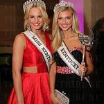 Miss Kentucky USA Katie George and Miss Kentucky Teen Caroline Ford.