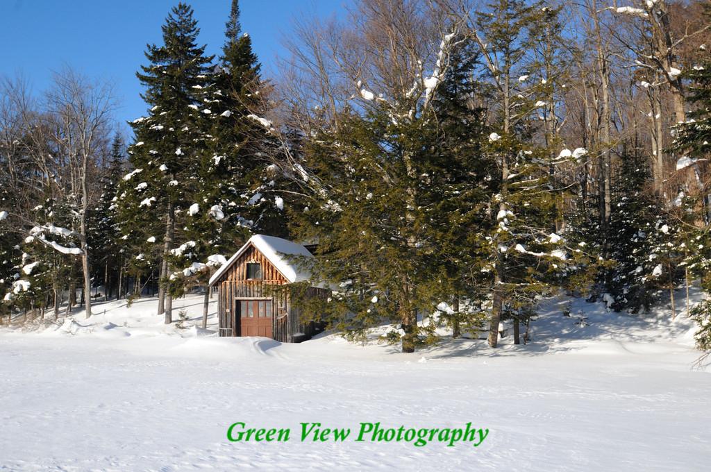 Winter Boathouse