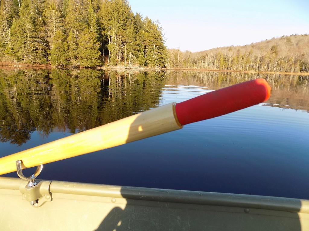 Past the oar