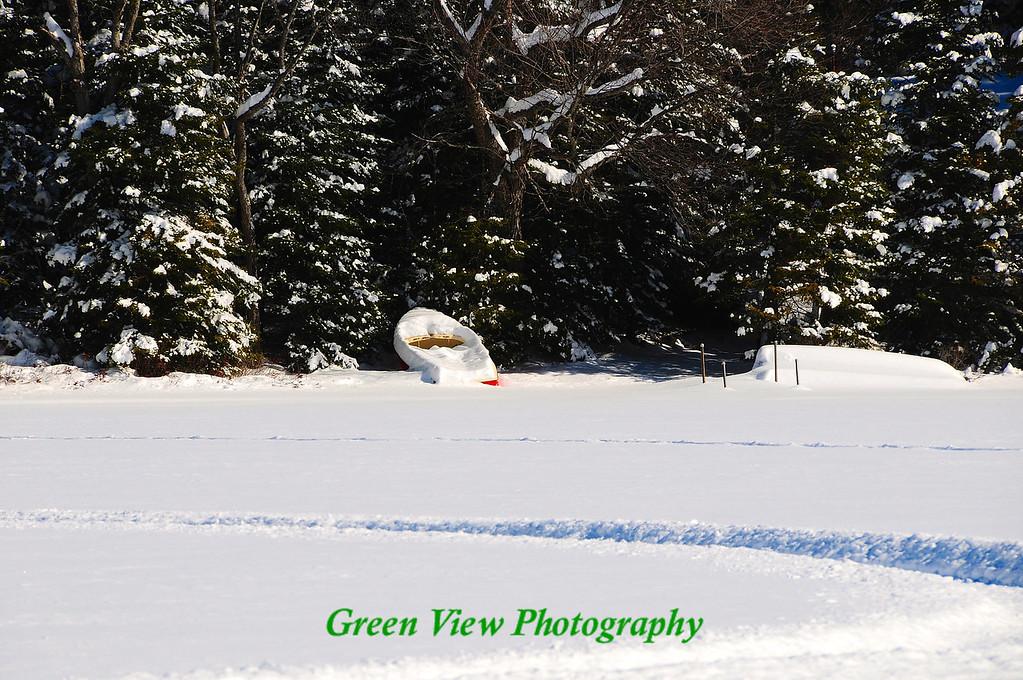 Snow Sailboat