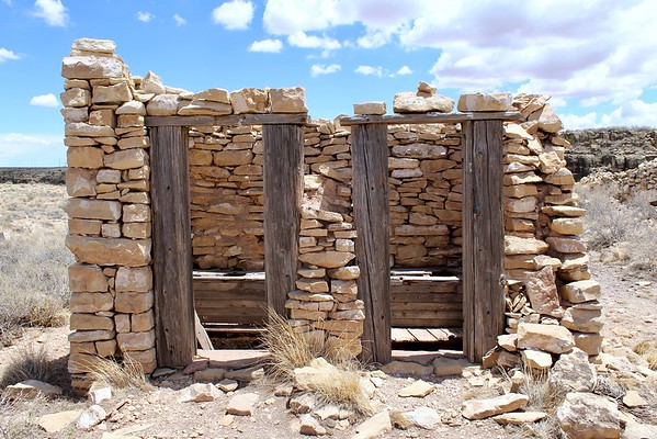 Historic outhouse - Two Guns, Arizona (2018)