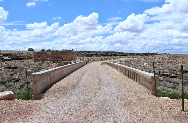 Canyon Diablo Bridge on the National Old Trails Road - Two Guns, Arizona (2018)