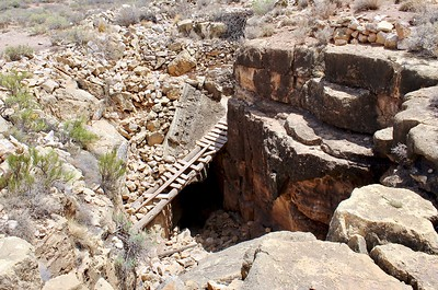 """Apache Death Cave"" entrance - Two Guns, Arizona (2018)"