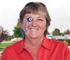 MWGA Treasurer, Barbara Blankenship with her lucky piece!