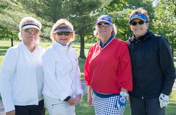Carolyn Schroeder, Sally Ann Rackers, Rebecca Pecher and Natalie Schaefer
