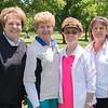 Connie Bredensteiner, Julia McEwen, Nancy White, Charlotte Bayliff