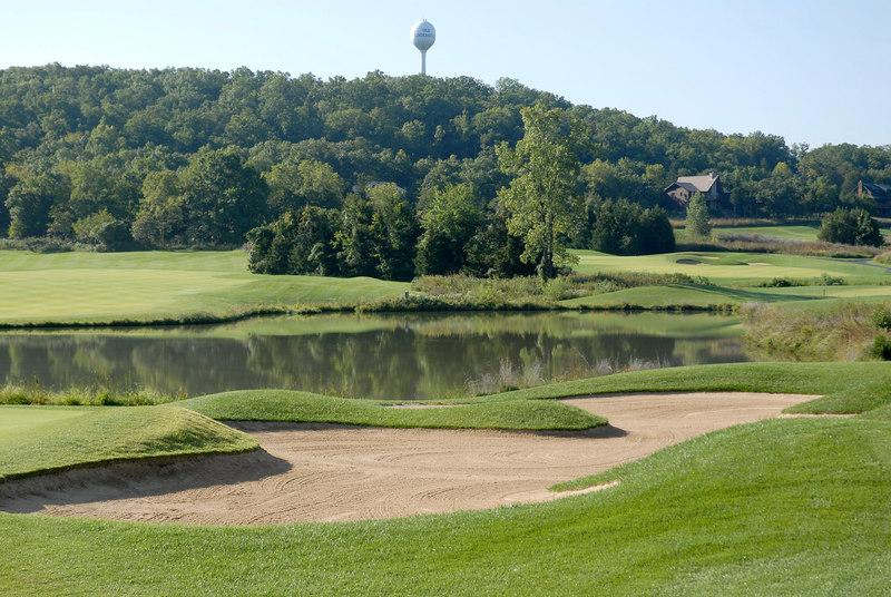The beautiful 18th hole at Old Kinderhook