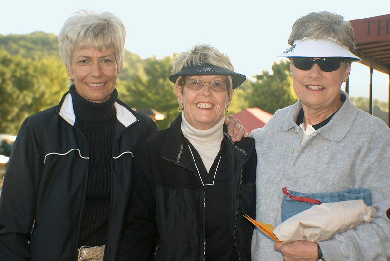 Peg Seifner with Phyllis Hardin and friend