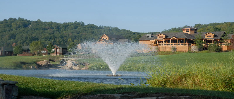 Old Kinderhook Pro Shop and Dining facilities have a wonderful view!