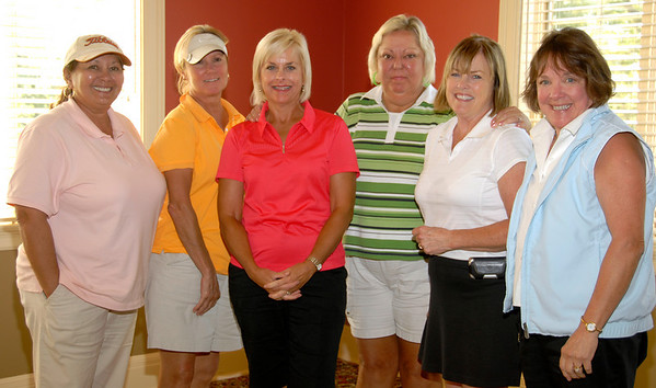 D Flight Winners: <br /> Doris Brady/JoDean Sanders, Sally Rackers/Carolyn Schroeder, and Patty McNally/Janet Zaring.