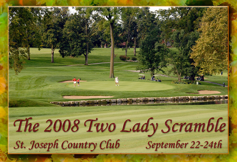 The Ninth Annual MWGA Two Lady Scramble was a great success due to the hard work of Alane Studley and her committees and club volunteers.
