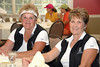 Sisters Linda Bettin and Gae Redford made the trip from Branson, MO to play in the two lady scramble.
