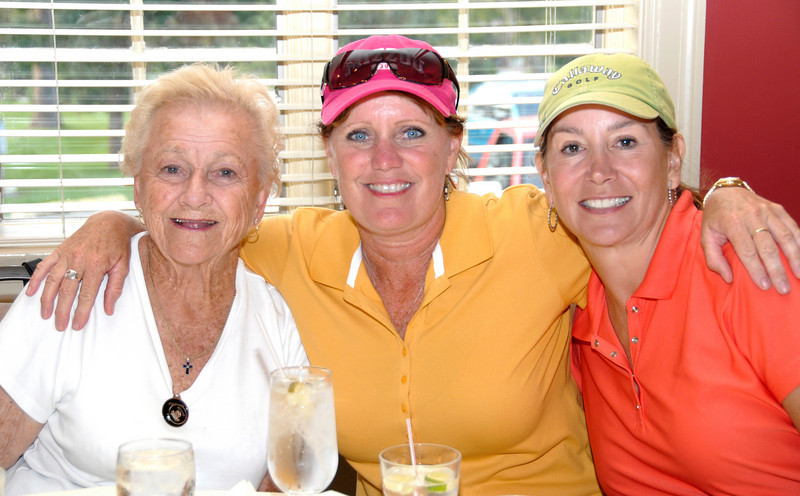 Johnie with longtime friends Janis Clemens of Springfield and Sherry Kempton of Sedalia.