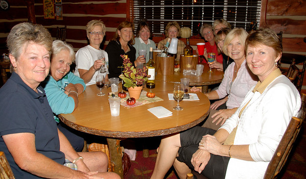 The ladies from Osage Beach enjoyed themselves at Stoney Creek Inn.