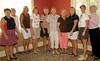 B Flight Winners:<br /> Wanda Evans/Sheryl Mulligan, Darlene Rawson/Pam Smith, Sherry Hartsell/Evelyn Starr, Barb Blankenship/Johnie Imes, and Beth Parmley,/Donna Hicks.