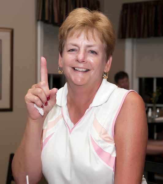 Gerry Wisniewski made a hole in one during her practice round!  Way to go!