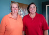 Brenda Wibbenmeyer and Cindy Hauter won A flight second place
