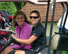 Stephany Priesmeyer and Mindy Coyle are ready for some fun golf!