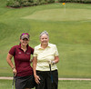 The team of Alisha Matthews and Rose Foster shot 69 in round one!