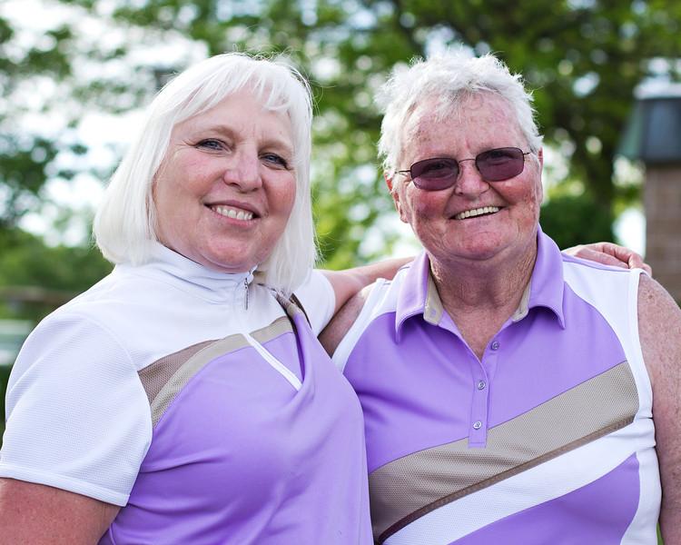 Barb Holdener and Doris Bolton