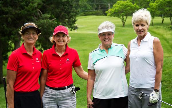 Julie Ford, Deborah Lepoire, June Halsor and Peg Eddy.