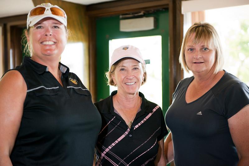 Deb Sawyer, Carol Figura and Marilyn Baumhoer