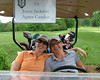 Joyce Jackson and Agnes Candau at their first Two Lady Scramble!