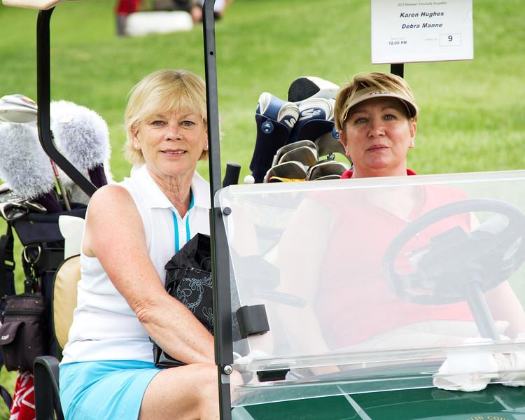 Karen Hughes and Debra Manne