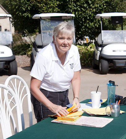 Rose Foster assists with Registration and served as Tournament Coordinator with Paula Glossip.
