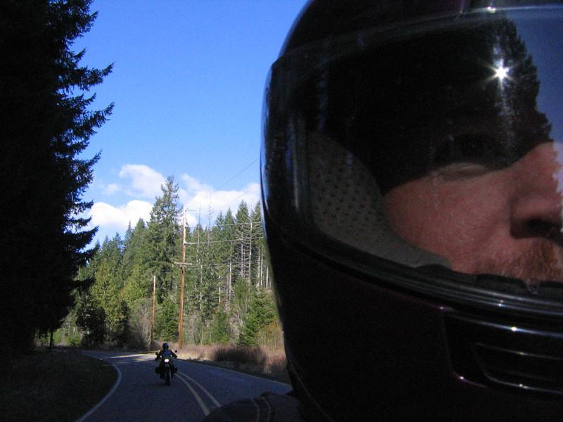 Vernonia Oregon dual sport motorcycle ride