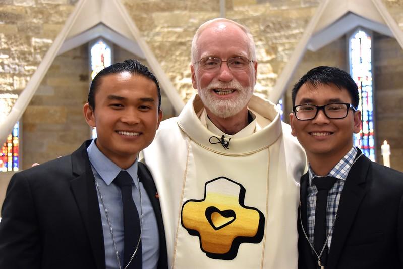 Paul, Fr. Ed and Henry