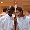 Two of our new novices: Hubert and John