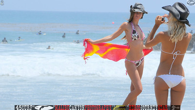 leo carillos surf's up beautiful swimsuit model 45surf 1576...
