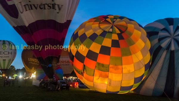 Bristol Balloon fiesta 2016 Saturday 13 August 2016