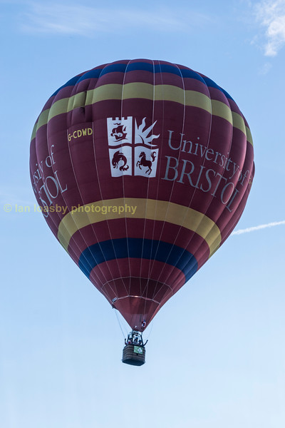 G-CDWD a Cameron Z-140 built in 2006 owned and operated by the Bristol University Hot Air Balloon Society