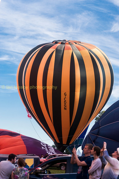 This Cameron z-105, built in 2007, is owned and operated by Ballooning Networking Ltd of Bristol