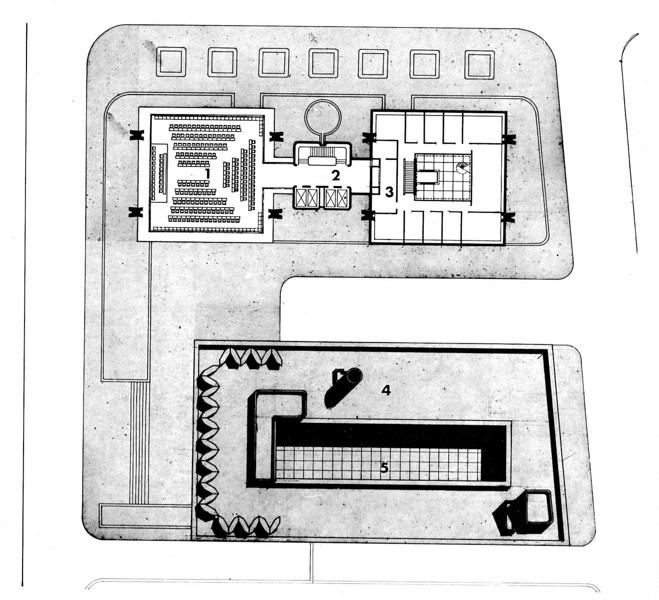 Assembly Hall - Floor Plan