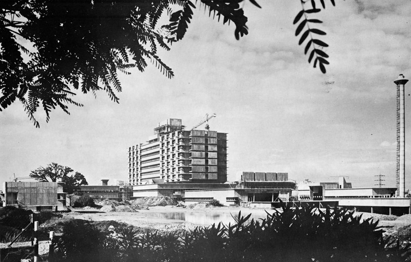 The Hospital Complex under Construction