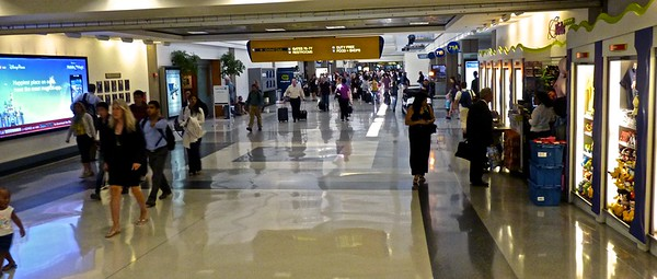 I'm pretty familiar with the Los Angeles International Airport after all these years.