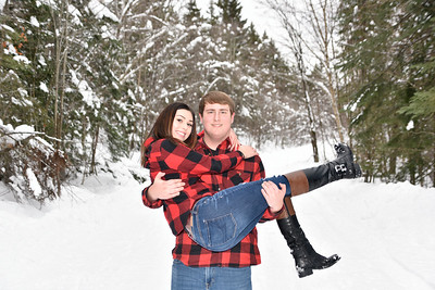 Tyler and Samantha Winter Session 2018