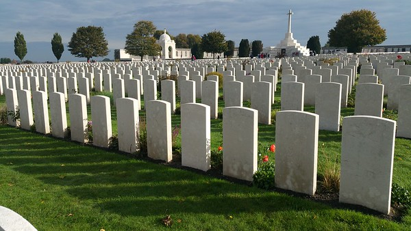 Tyne Cot Cemetery Belgium 2017