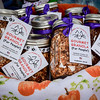 Gourmet Granola made by The Happy Cat Company sells some delicious treats at the Farmers Market in Tyngsboro. SUN/Caley McGuane