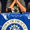Thinking about an awnser to one of the questions asked of the Dracut Team is Connor Peterson 12 at the Knowledge Bowl. SUN/David H. Brow