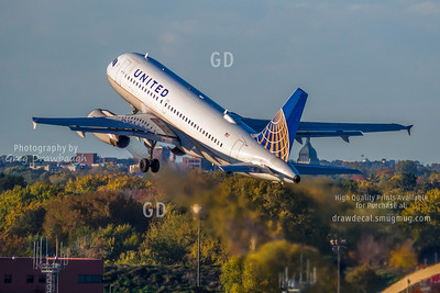 United Airbus A319