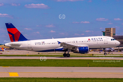 Delta A320 N340NW