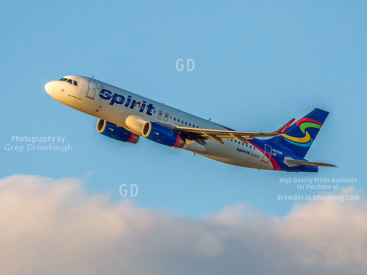 Spirit Airlines A320
