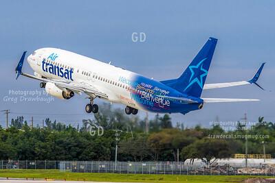 Air transat 737-800