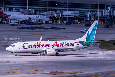 Caribbean Airlines 737-800 9Y-BGI